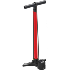 Lezyne Macro Floor Drive Digital Floor Pump, red